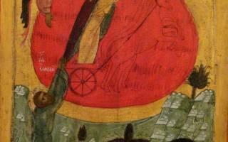 Илья пророк: житие, чудеса, иконы и молитва