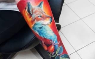 Значение тату лисы — происхождение, символика, кому подходит