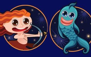 Совместимость мужчины-стрельца и женщины-рыбы: плюсы и минусы отношений