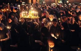 Молитвы Андрея Критского во время великого поста: канонические правила