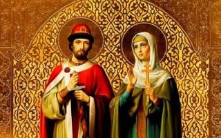 Молитва на сохранение семьи от развода к Петру и Февронии