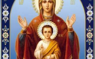 Икона Божией Матери «Знамение» — описание, кому и для чего ей молиться, где расположить