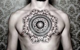 Значение интересной и мистической татуировки Мандала
