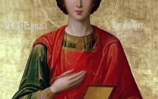 Пантелеймон целитель и его икона — толкование