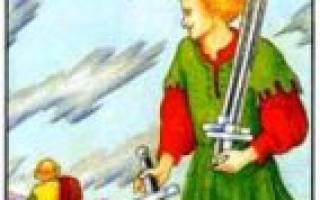 Пять мечей Таро: какое имеют значение и толкование в раскладах