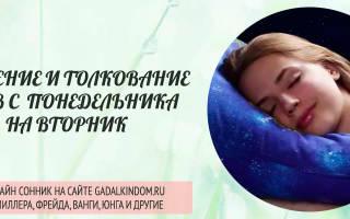 Тайны снов: что означает, когда снится с понедельника на вторник