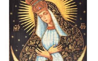 Икона Божией Матери Остробрамская — значение иконы, в чем помогает и от чего защищает, молитва